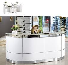 reception front desk for sale amazing laila tufted salon front desk small reception area
