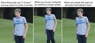 Meme Expert - barron trump s the expert shirt gets memed know your meme