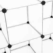 multi 16cube modular storage organizer cabinet closet wardrobe
