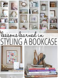 how to style a bookcase lessons learned in styling a bookcase finding home farms