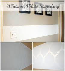 bathroom stencil ideas round 5 stencil projects and vote one artsy mama