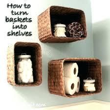 Hanging Bathroom Shelves Baskets For Bathroom Shelves Hanging Baskets Bathroom Medium Image