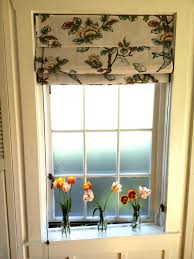 curtains for windows by front door in state dkny rosette window