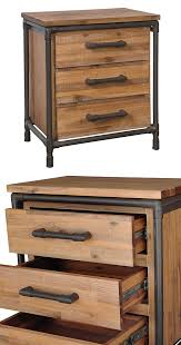 Metal Nightstands With Drawers Image Result For Iron Pipe Bedside Table Decor Industrial