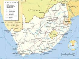 South Africa Maps by Is South Africa Map World