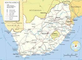 Map Of South Africa by Map Of South Africa Borders