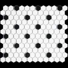 luxe hexagon mosaics natural stone tumbled tile arizona tile