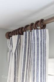 curtain with rings images New curtains and a budget friendly curtain ring hack living jpg