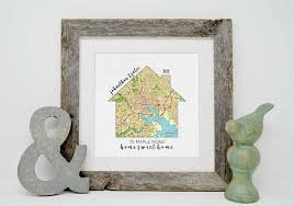 new house gifts personalized housewarming gifts personalized home map first