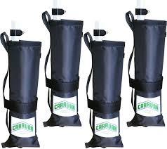 Awning Weights Caravan Premium Canopy Weight Bags 4 Set U0027s Sporting Goods