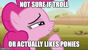 Not Sure If Meme Maker - pondering pinkie imgflip