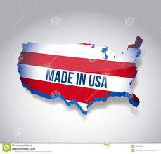 The Usa Map Stamp With Map Flag Of The Usa Made In The Usa Royalty Free