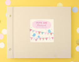 christening photo album christening album etsy