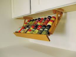 kitchen cabinet spice organizers home design ideas