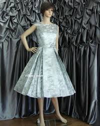betty vintage style tea length wedding dress available in other