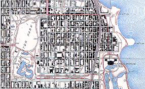 chicago map streets map collection