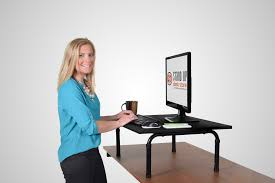 Sit To Stand Desk Converter by Luxor U0027s Stand Up Desk Store Launches New Line Of Standing Desk