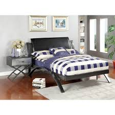 furniture of america liam full size bed and nightstand bedroom set