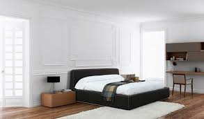 Simple Double Bed Designs With Box Double Bed Contemporary Fabric Upholstered Box By Jordi