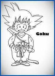 imagenes de goku para dibujar faciles con color dibujos de goku para dibujar a color archivos dibujos de dragon ball z
