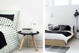 chambre noir et blanc design une chambre en noir et blanc joli place