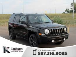 2017 jeep patriot sunroof pre owned 2017 jeep patriot 75th anniversary 4x4 heated seats