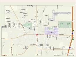 Map Mapquest Easystreet Cafe