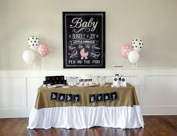 baby shower kits burlap and chalkboard baby shower charming chalkboard baby