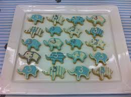 indulge with me elephant baby shower