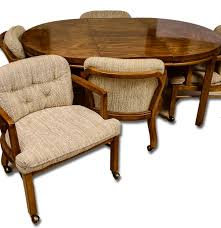expandable game table drexel heritage game table and chairs ebth