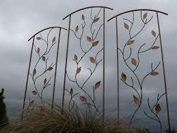 cool and opulent metal garden trellis designs metal trellis