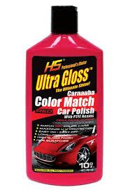 amazon com hs ultragloss carnauba red color match car polish with