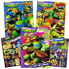 amazon teenage mutant ninja turtles coloring activity