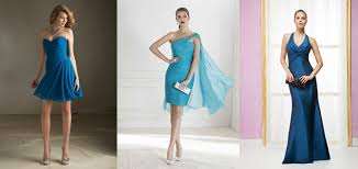 15 robes bleues pour les invitées du mariage - Robe Pour Invit De Mariage