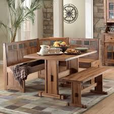 Nook Table Set by Uncategorized Rustic Small Breakfast Nook Table Set And Chairs
