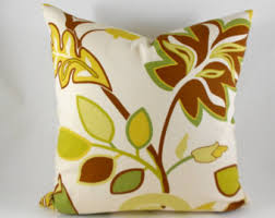 Clearance Decorative Pillows Citron Pillows Etsy