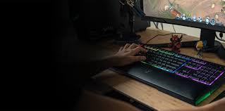 Gaming Setup Maker by Mechanical Membrane Keyboard Razer Ornata Chroma