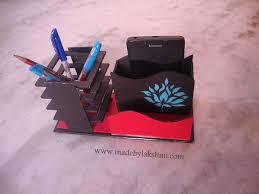 Origami Desk Organizer Diy Desk Organiser M De By Lakshmim De By Lakshmi