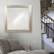 millennium home design inc howard elliott 40 in x 40 in millennium silver square mirror