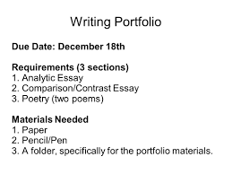 compare and contrast sample essays conclusion for a compare and contrast essay comparison and writing portfolio mr butner writing portfolio due date 2 writing