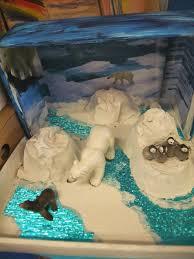 reed u0027s polar bear diorama craft ideas for kids pinterest