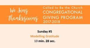 we sing thanksgiving stewardship toolkit