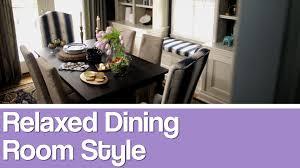 casual dining room design video hgtv