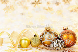 golden ornaments background greeting cards by
