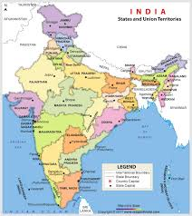 map all india map map of india