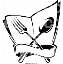 Black And White Chair by Royalty Free Clip Art Vector Logo Of A Black And White Dining And