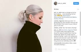 best way to blend gray hair into brown hair 53 gorgeous grey hairstyles that will inspire you to ditch the dye
