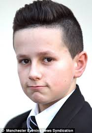 salford boy banned from school over extreme haircut inspired by
