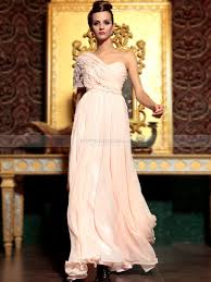 soft a line prom dress with beaded and floral butterfly sleeve