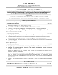 Example Of Resume For Human Resource Position by Keywords For Human Resources Resume Free Resume Example And